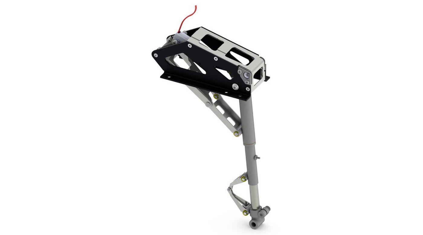 Image for Rotating Mains: 1/5 Electric White TF Hellcat from HorizonHobby
