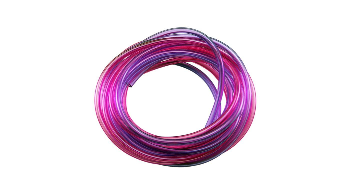 Image for Pressure Tubing Red & Purple 10' from HorizonHobby