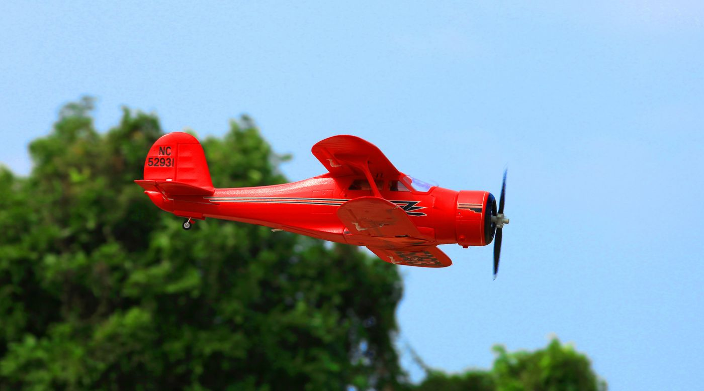 Image for Staggerwing Red PNP, 1030mm from HorizonHobby