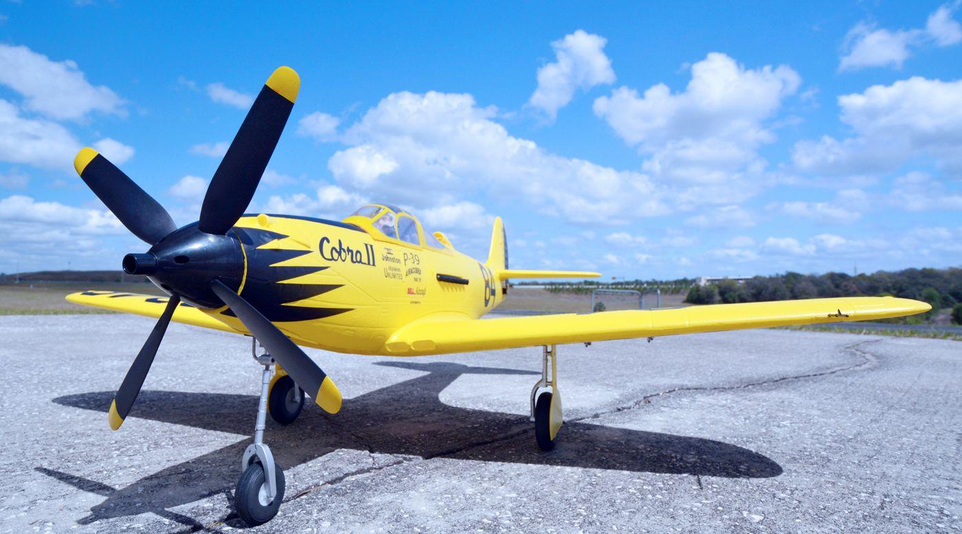 Image for P-39 Cobra II Racer PNP, 980mm from HorizonHobby