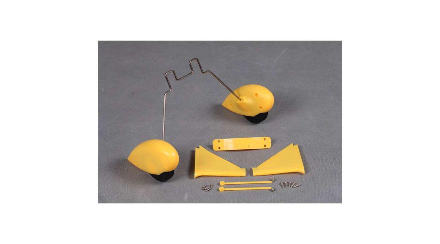 Image for Main Landing Gear: Waco Yellow from HorizonHobby