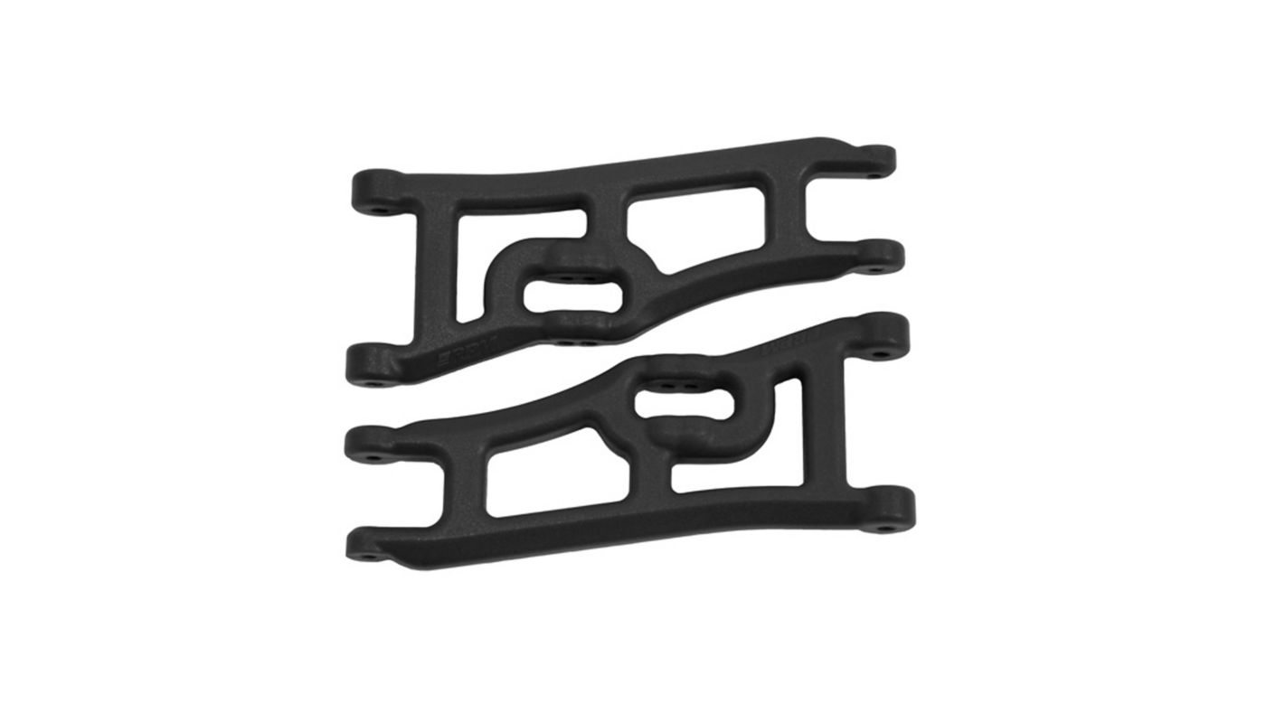 Image for Wide Front A-Arms, Black: Rustler, Stampede 2WD from HorizonHobby