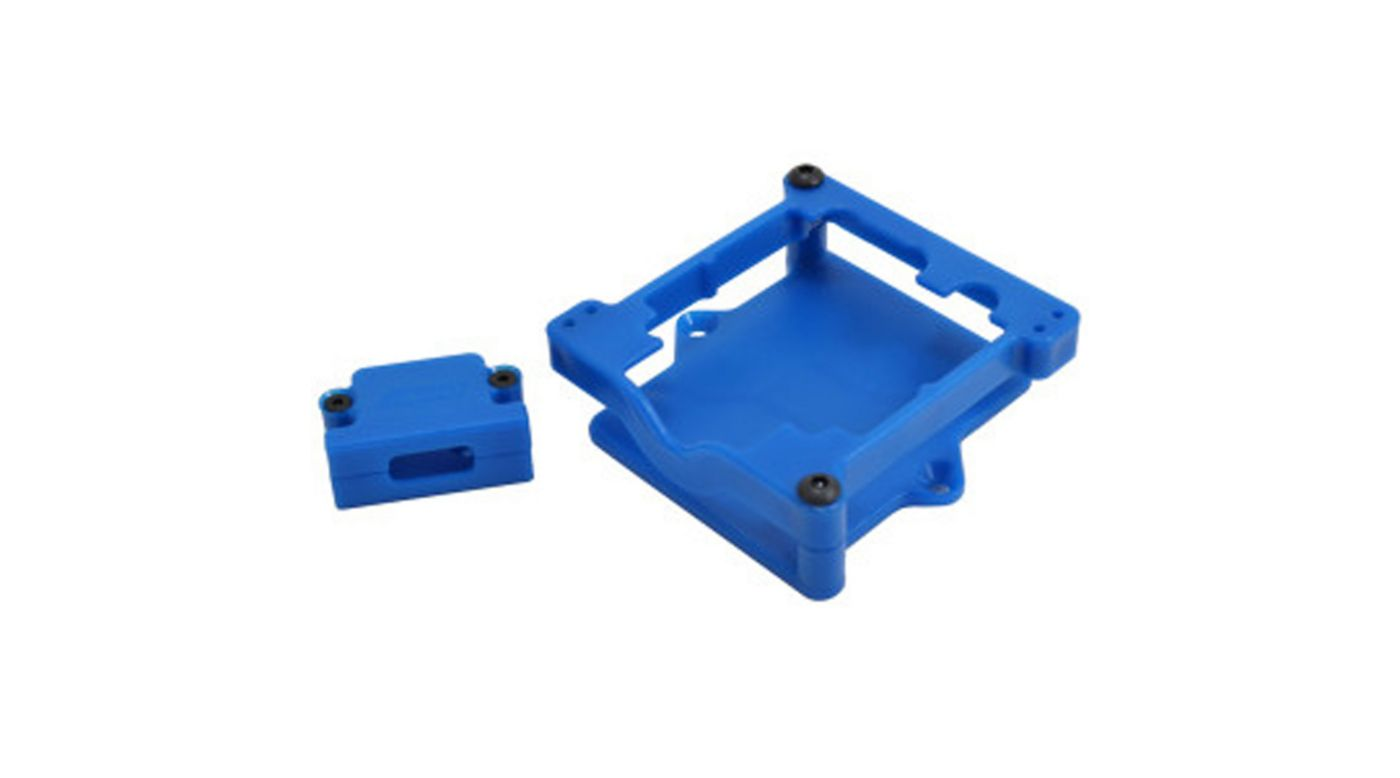 Image for ESC Cage, Blue: Sidewinder 3, SLH, ST, RU, BA from HorizonHobby