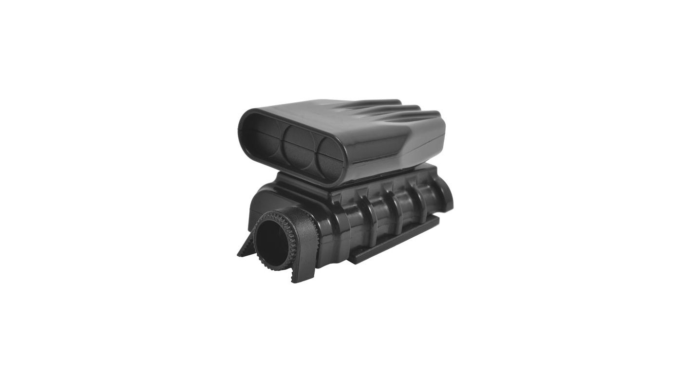 Image for Mock Intake and Blower Set, Black from HorizonHobby