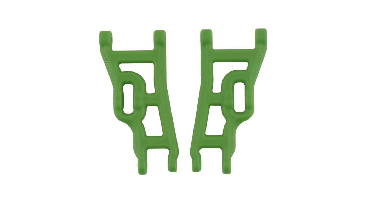 Image for Front A-Arms, Green: Elec Rustler,Stampede,SLH 2WD from HorizonHobby