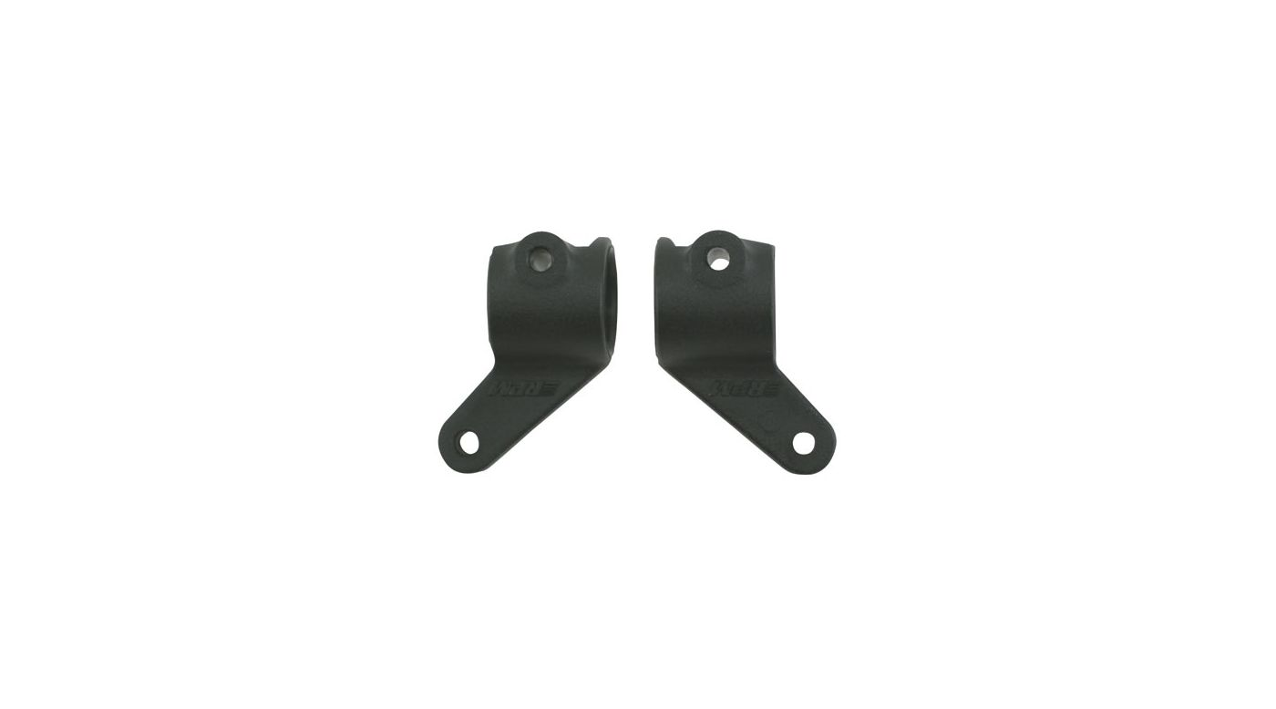 Image for Front Bearing Carriers, Black: RU, ST, BA, SLH from HorizonHobby