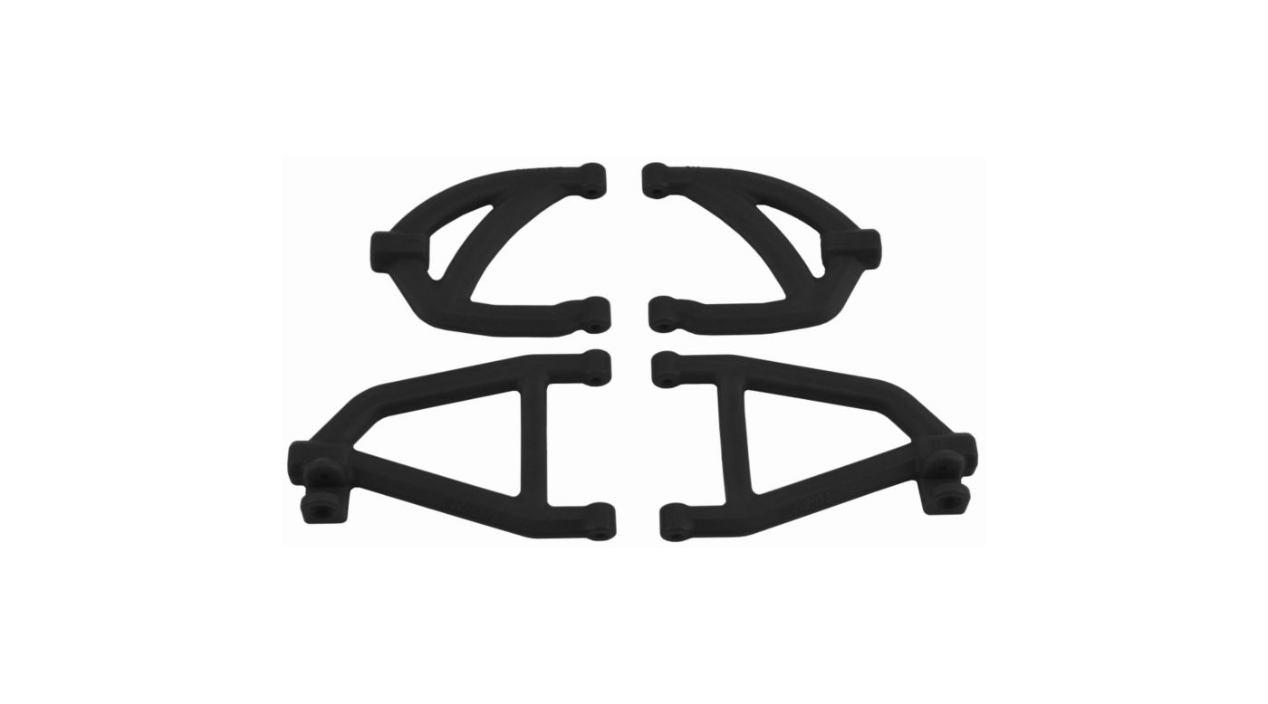 Image for Rear A-Arms, Black: Traxxas 1/16 from HorizonHobby