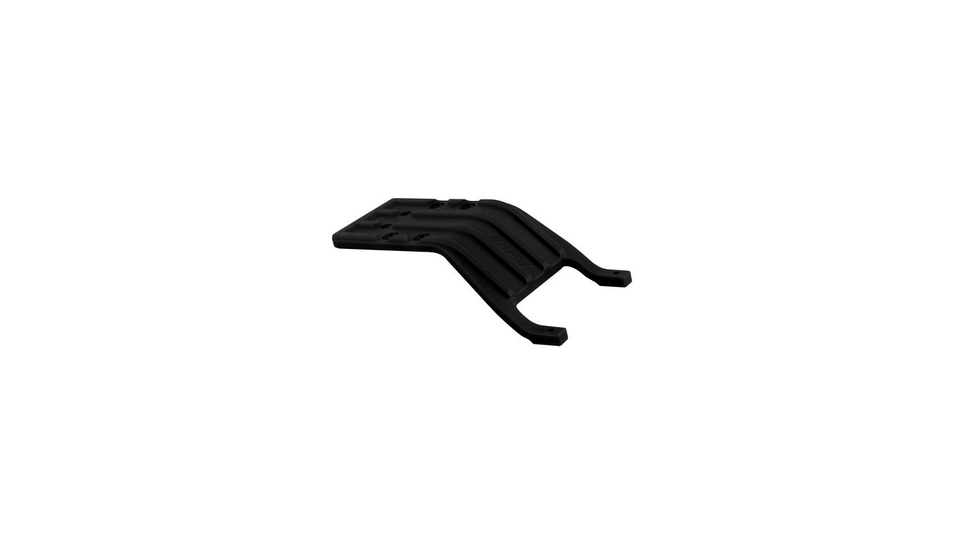 Image for Rear Skid Plate, Black: SLH from HorizonHobby