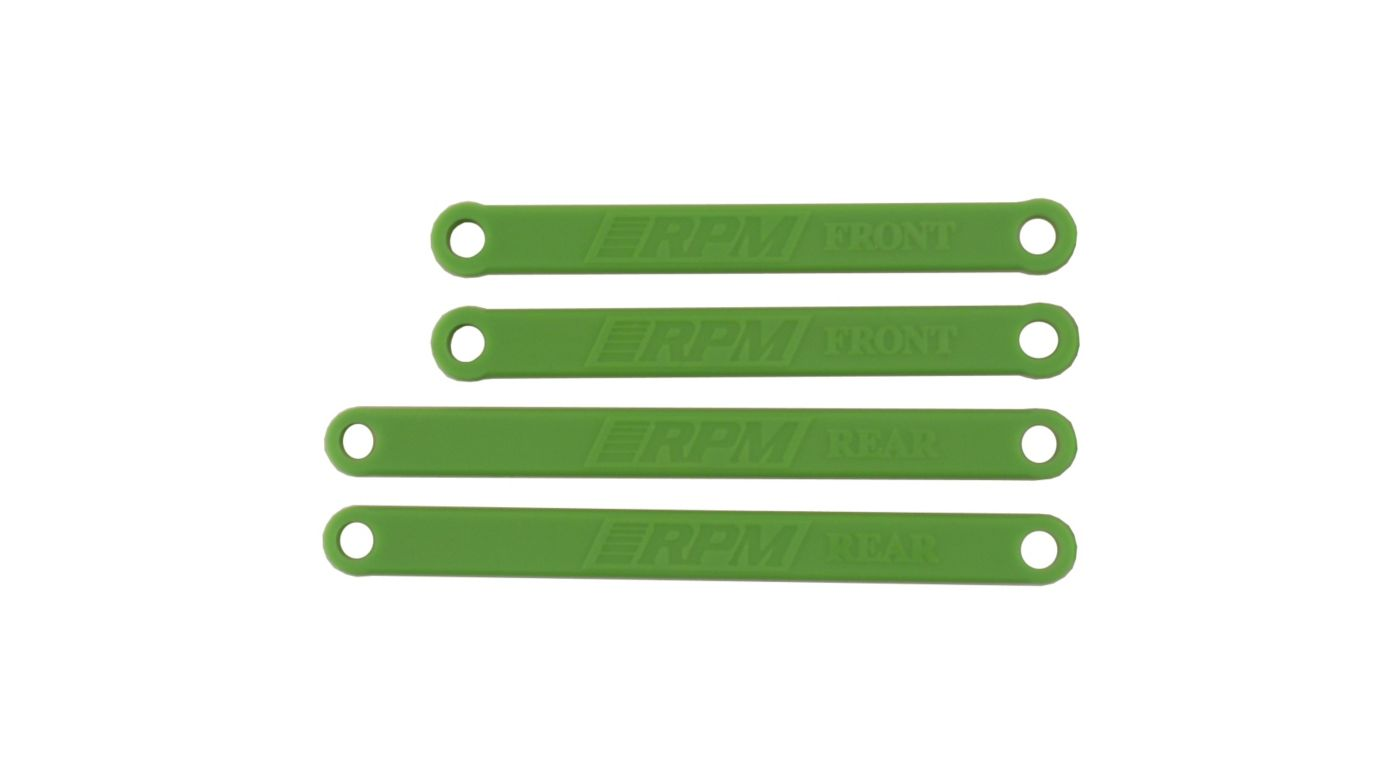 Image for Heavy Duty Camber Links, Green:  Electric Rustler, Stampede from HorizonHobby