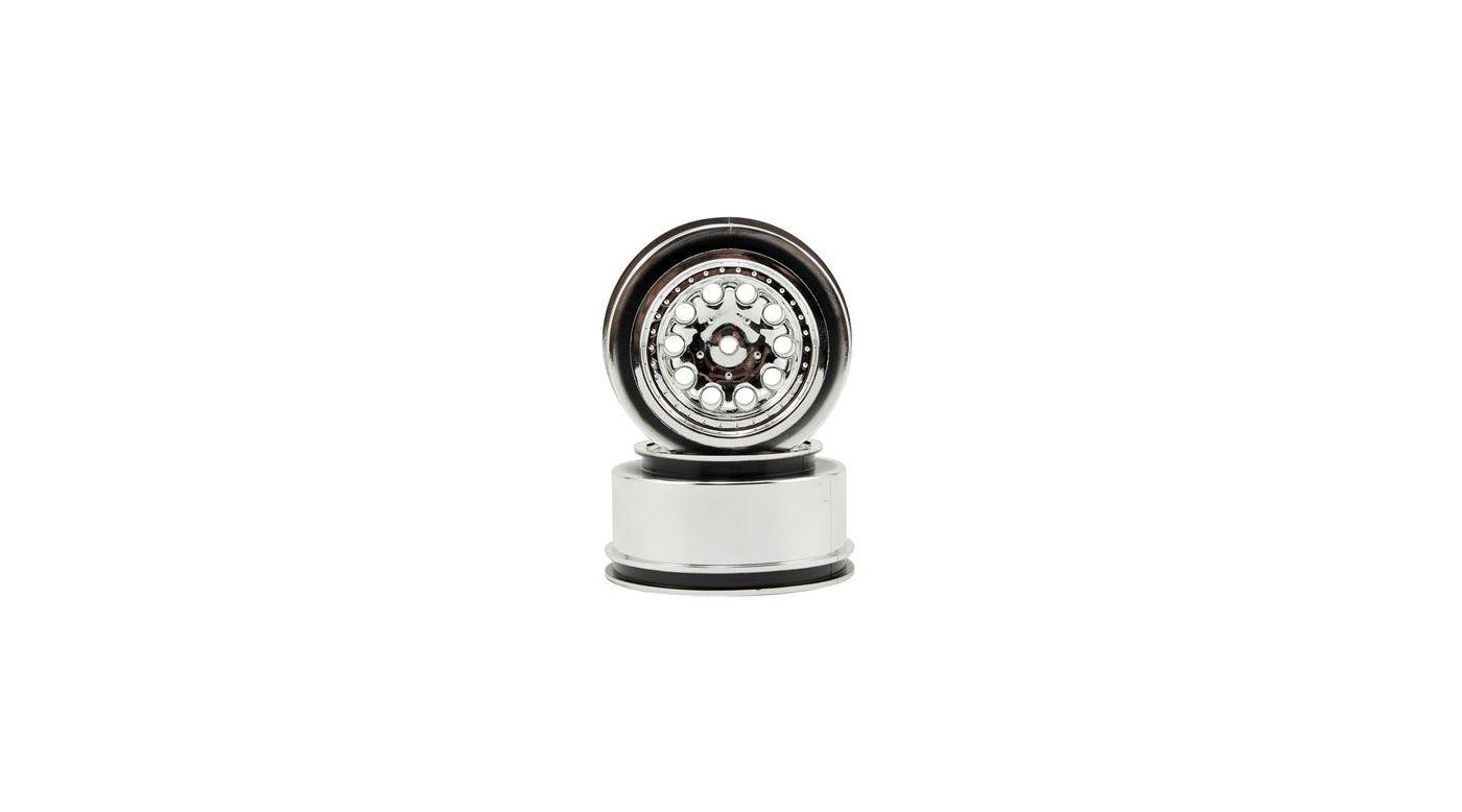 Image for Revolver Wheels, Chrome: Slash 2WD (Rear), Slash 4x4 from HorizonHobby