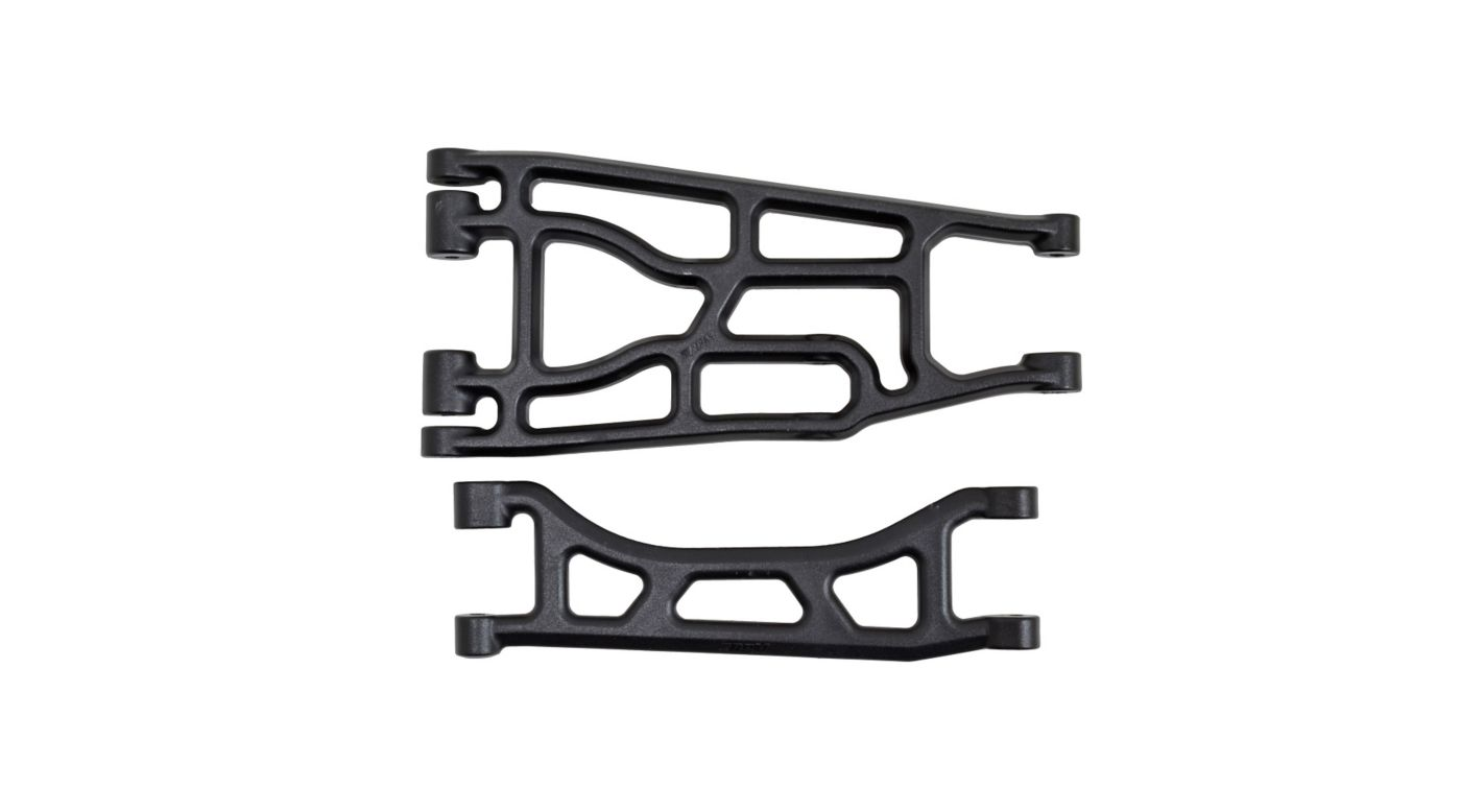 Image for Upper and Lower A-arm Pair, Black: Traxxas X-Maxx from HorizonHobby