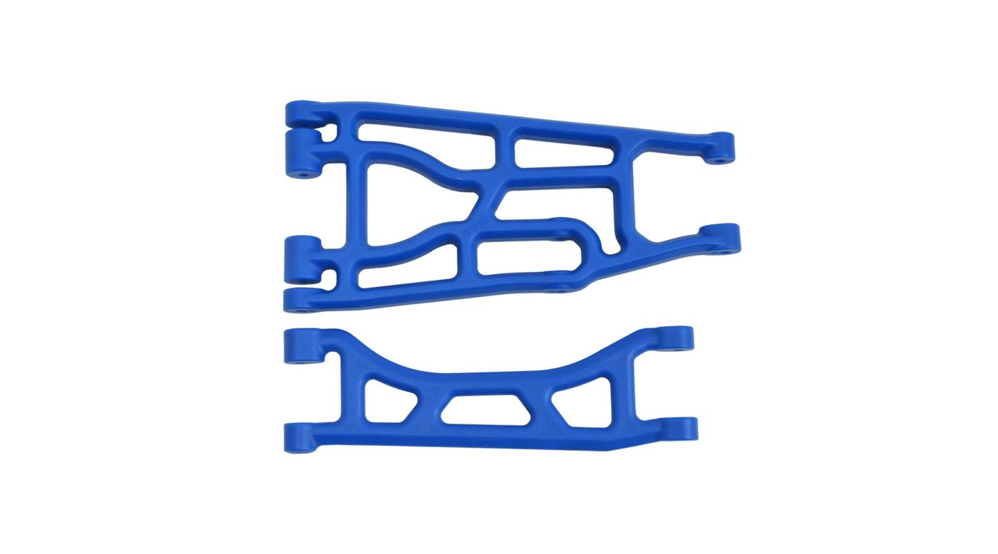 Image for Upper and Lower A-arm Pair, Blue: Traxxas X-Maxx from HorizonHobby