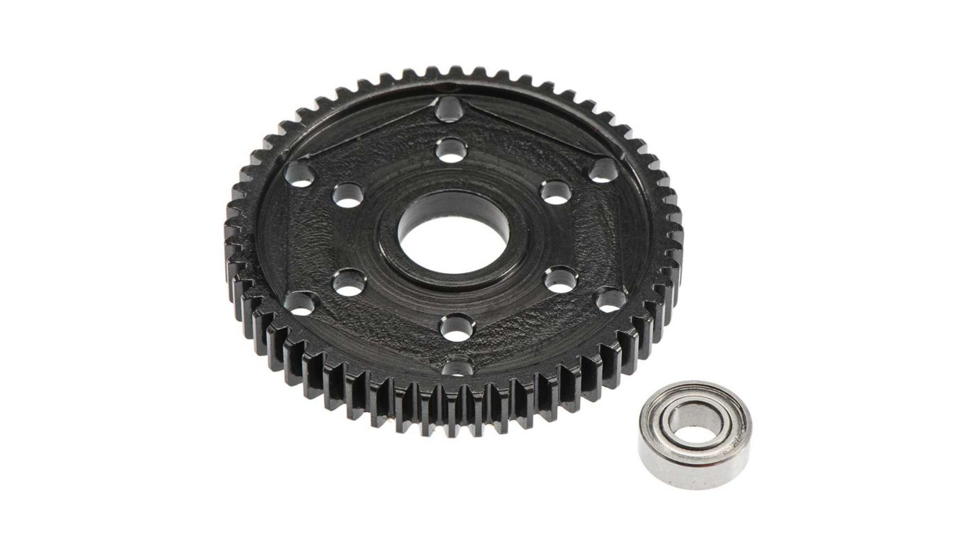 Image for Steel 56T Stock Repl 32P Gear Black SCX10 SMT10 from HorizonHobby