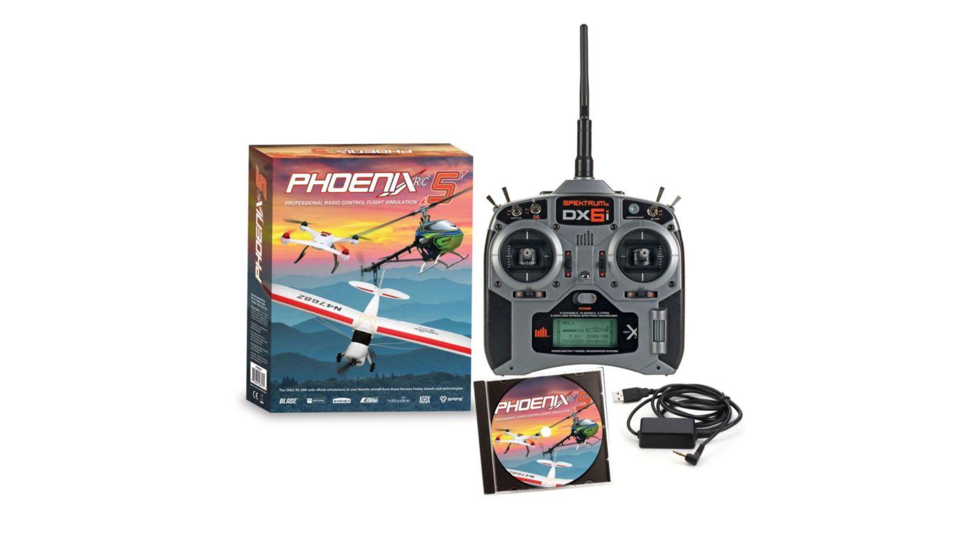 Image for Phoenix R/C Pro Simulator V5.0 with DX6i from HorizonHobby