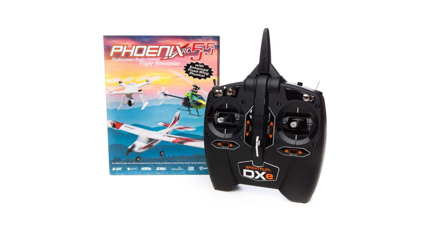 Image for Phoenix R/C Pro Simulator V5.5 with DXe from HorizonHobby