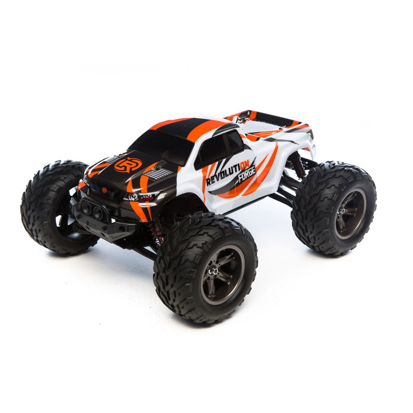 1/12 Forge 2WD Monster Truck RTR, Grey/Orange (RVOS02000T1)
