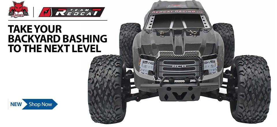 Shop Redcat Racing RC vehicles - Take your backyard bashing to the next level