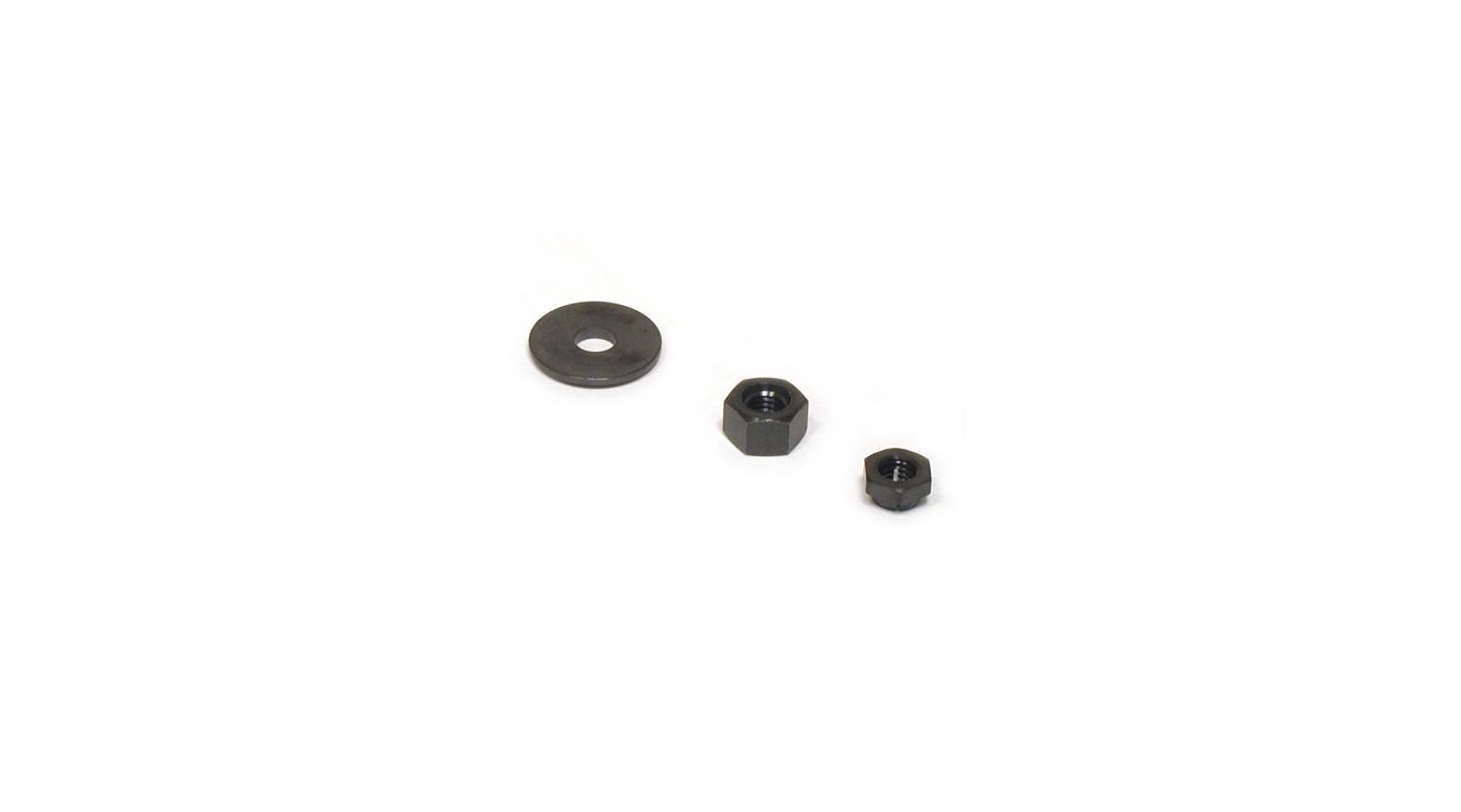 Image for Prop Washer/Nut/Lock: QQ,UU from HorizonHobby