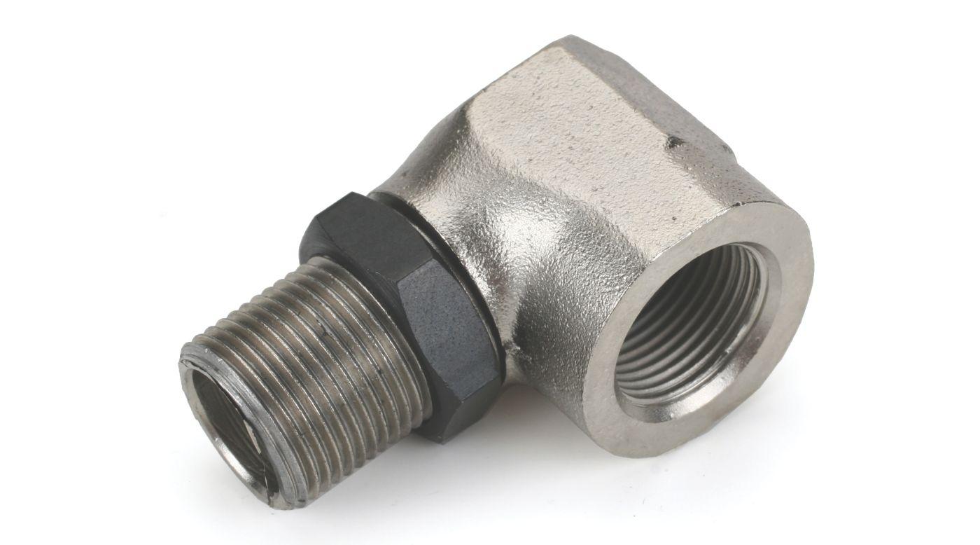 Image for Muffler, Right Angle Adapter: 120-180, 300 from HorizonHobby