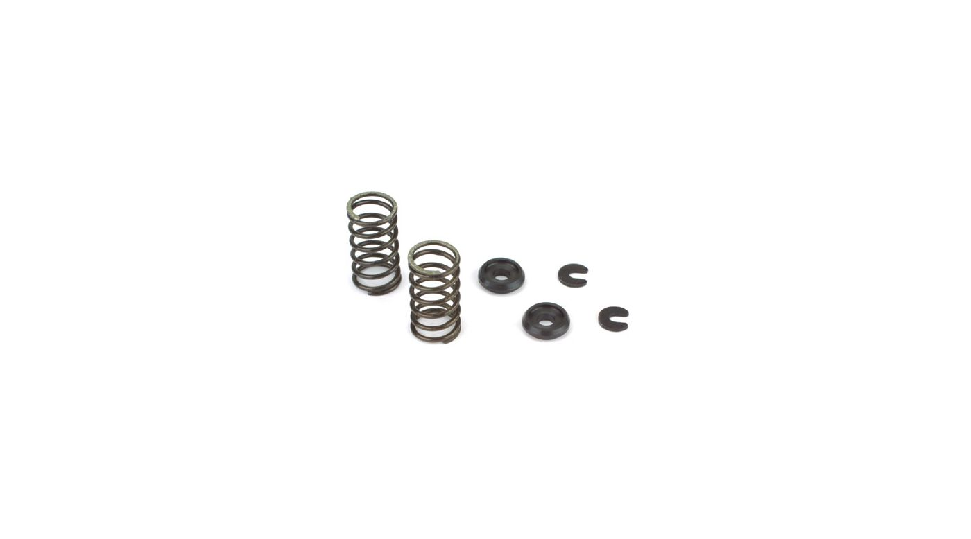 Image for Valve Spring/Keeper/Retainer (2): B,D,F,P,AA,II,JJ,KK,BZ,BS,CA, CF from HorizonHobby
