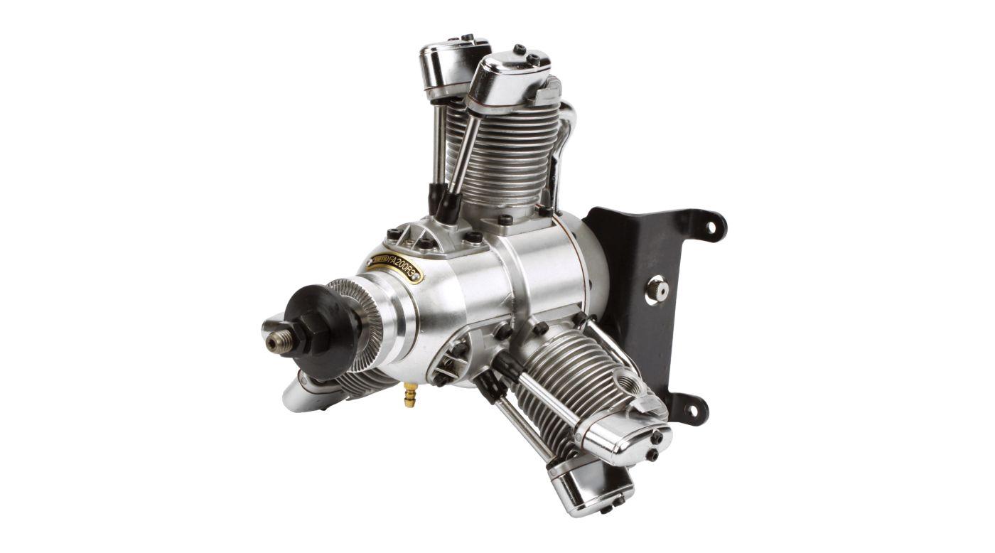 Image for FA-200R3 3-Cylinder Radial Glow Engine: BA from HorizonHobby
