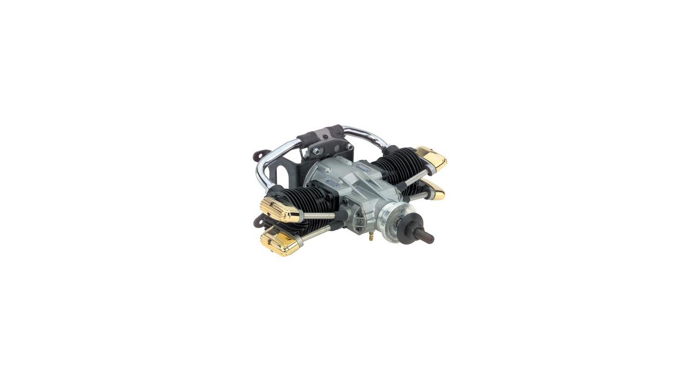 Image for 300 Twin Cyl AAC with Muffler: Z from HorizonHobby
