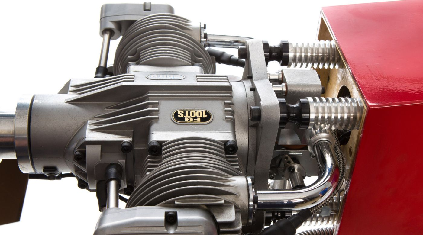 Image for 100cc 4-Stroke Twin-Cylinder FG-100TS Gasoline Engine from HorizonHobby