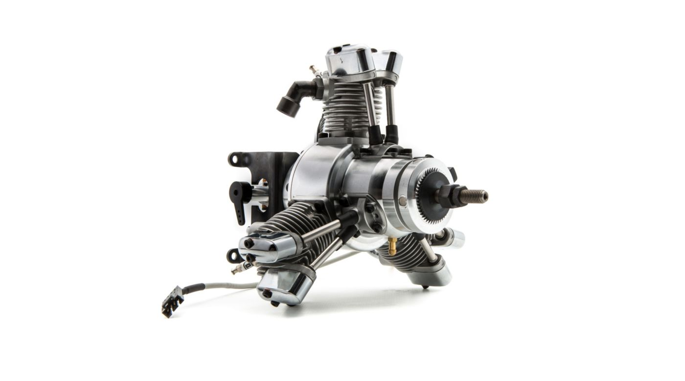 Image for FG-19R3 3-Cylinder Gas Radial Engine: CB from HorizonHobby
