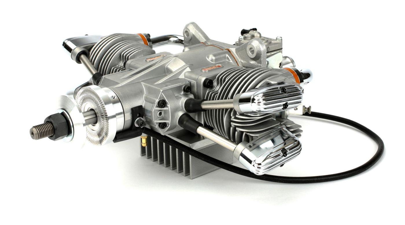 Image for FG-57TS 57cc Twin Cylinder 4-Stroke Gas Engine: BT from HorizonHobby