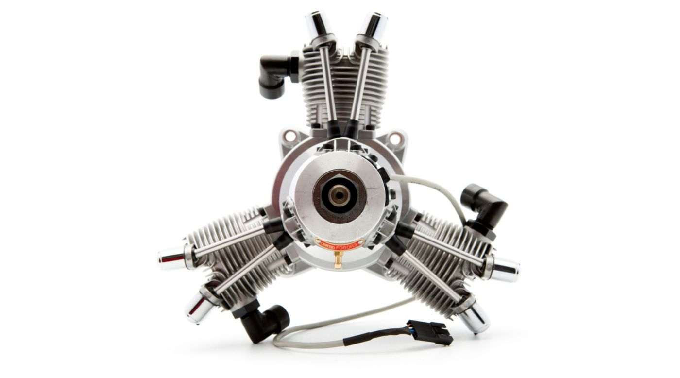 Image for FG-60R3 60cc 3-Cylinder Gas Radial: CA from HorizonHobby