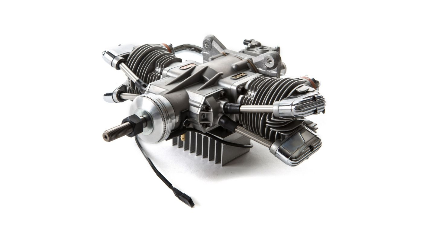 Image for FG-61TS 61cc 4-Stroke Gas Twin Engine: CC from HorizonHobby