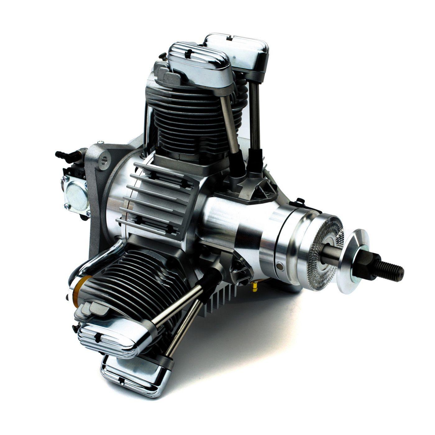 84cc 3-Cylinder Gas Radial Engine: BR | HorizonHobby
