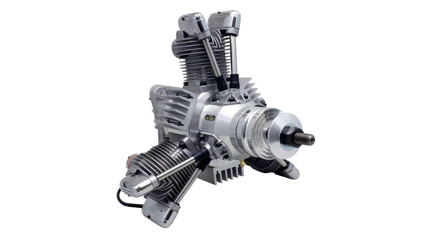 Image for FG-90R3 90cc 3-Cylinder Gasoline Radial Engine from HorizonHobby