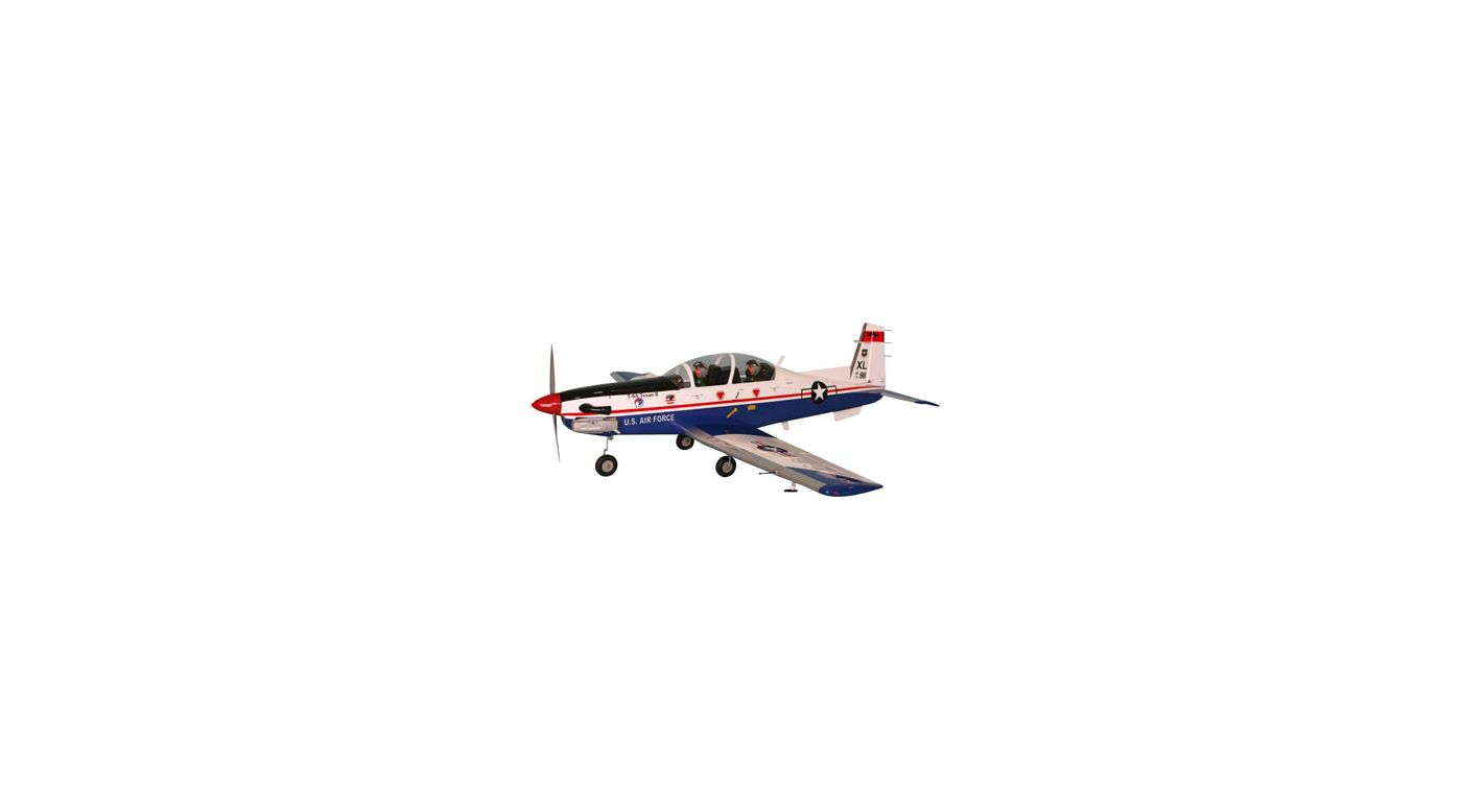 Image for T-6A Texan Size 75-91 from HorizonHobby