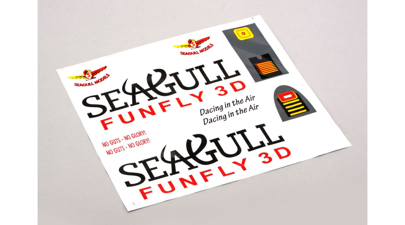 Image for Decal Set: Funfly 3D from HorizonHobby