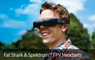 Fat Shark Spektrum Teleporter Focal Dominator V3 FPV Goggles Headset