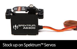 Stock up on Spektrum Servos