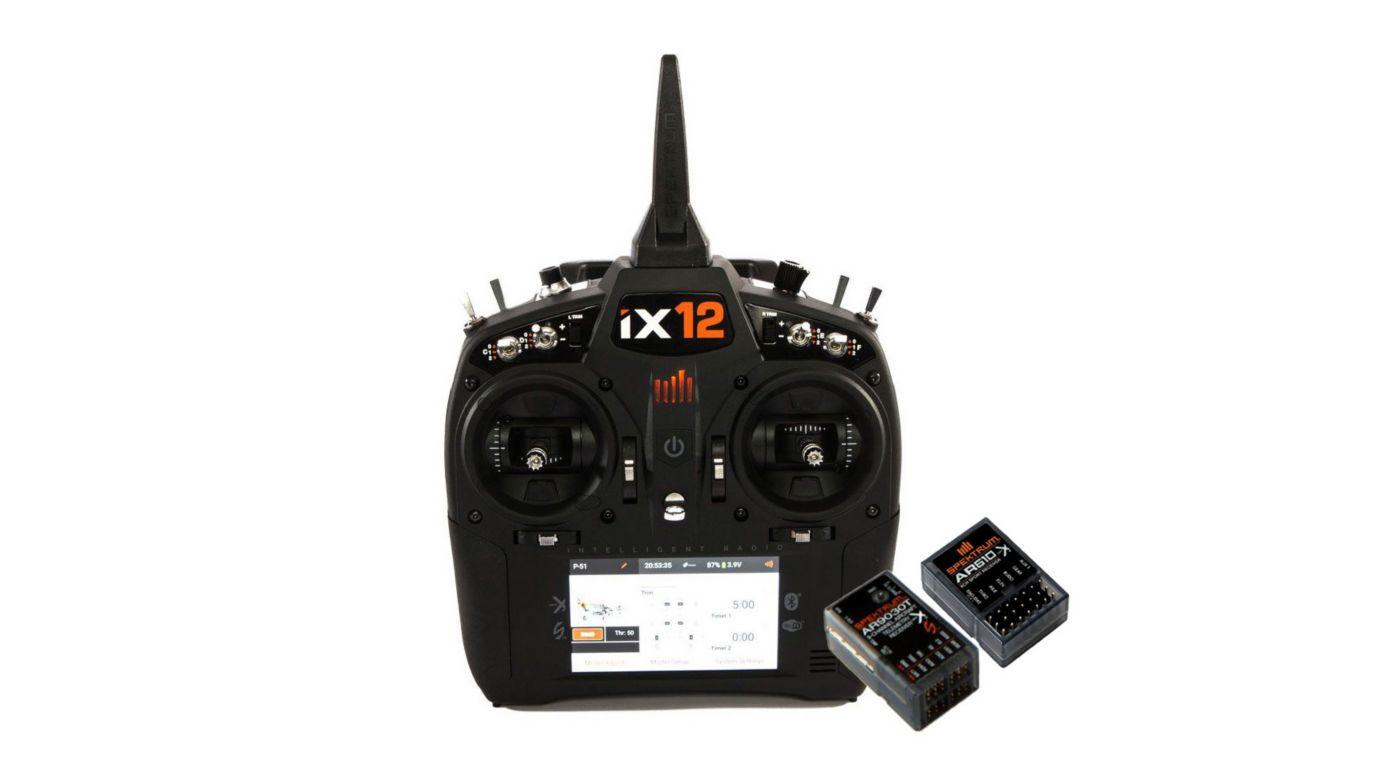 Grafik für iX12 12CH System mit AR9030T + 2 AR610 in Horizon Hobby
