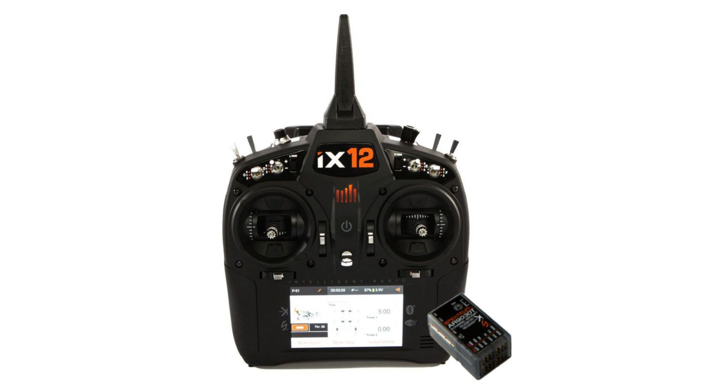 Image for iX12 12-Channel DSMX Transmitter with AR9030T Receiver EU Version from Horizon Hobby