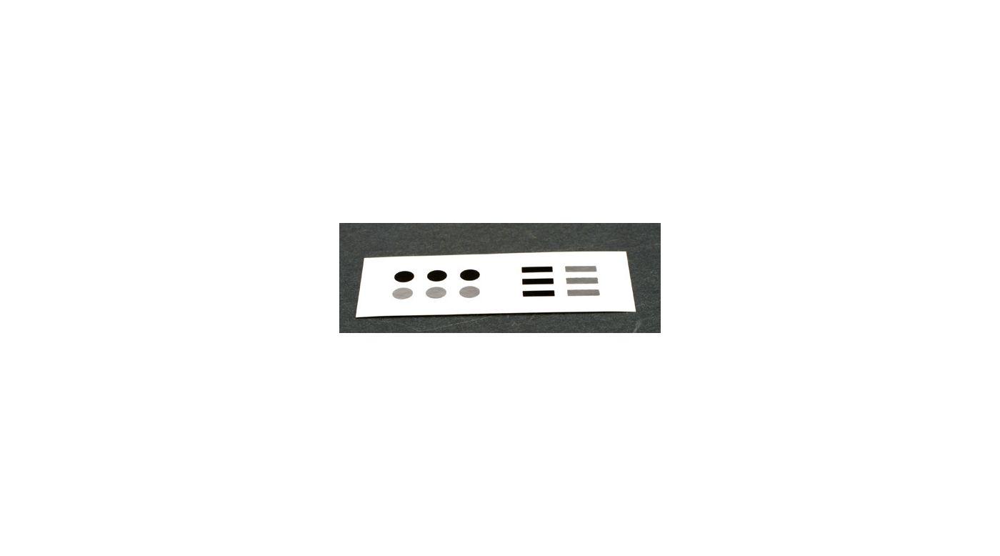 Image for Telemetry RPM Sticker Sheet from HorizonHobby