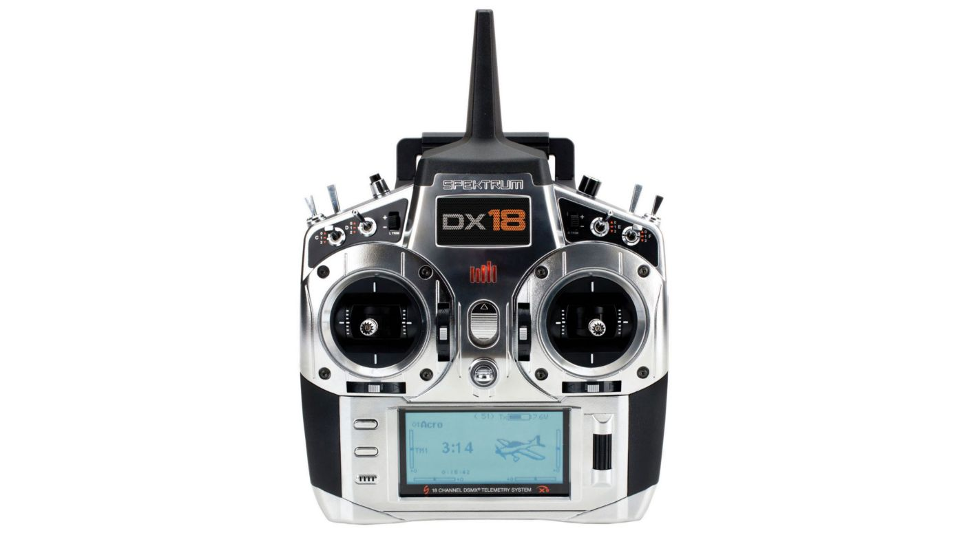 Image for DX18 18-Channel DSMX Transmitter Gen 2 with AR9020, Mode 1 from HorizonHobby