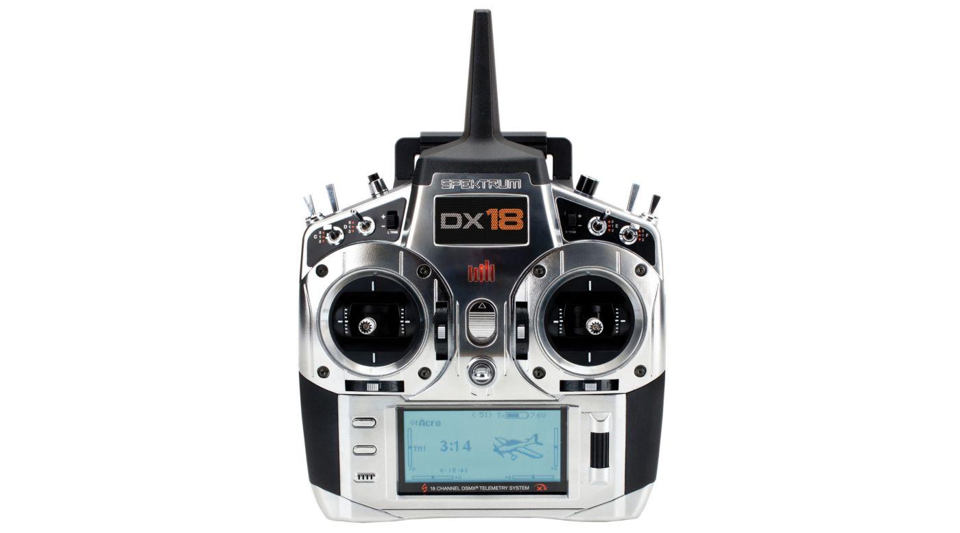Spektrum Dx18 18 Channel Dsmx Programmable Radio