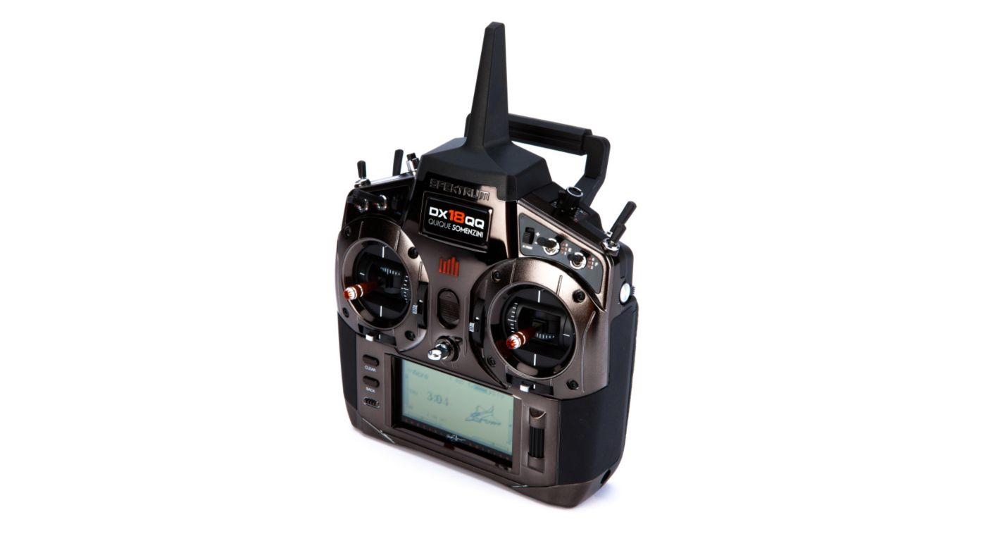 Image for DX18QQ Quique Special Edition w/AR12120, X-Plus 8, Mode 2 from HorizonHobby