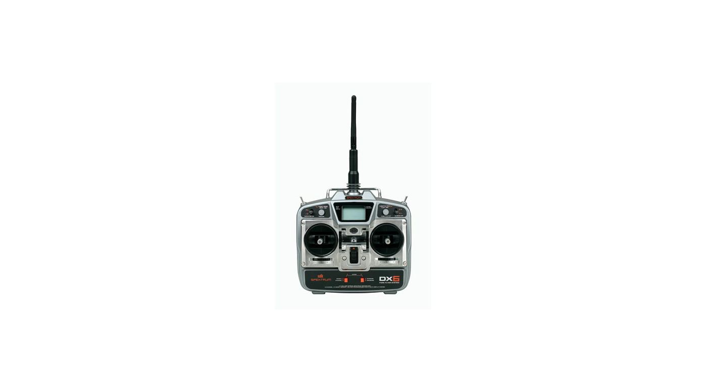 Image for DX6 DSM 6CH Park Flyer System w/4-S75 from HorizonHobby