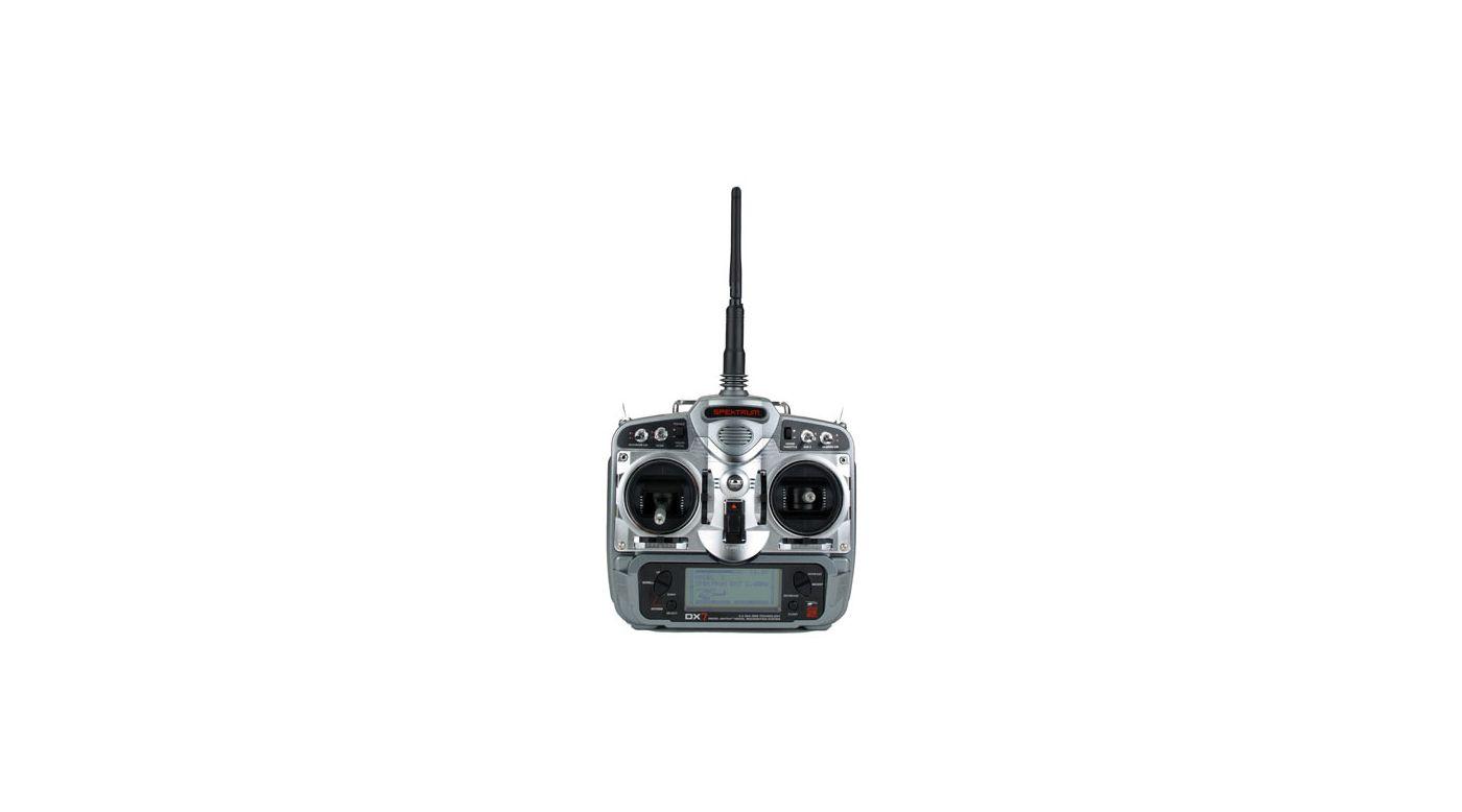 Image for DX7 DSM2 7-Channel Microlite Heli Radio w/ 3-S285 from HorizonHobby