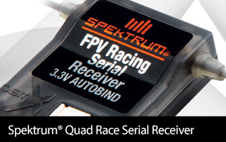 Spektrum Quad Race Serial Receiver