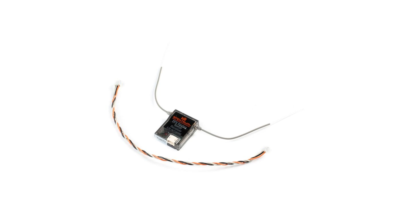 Image for DSMX Quad Race Serial Receiver with Diversity from HorizonHobby