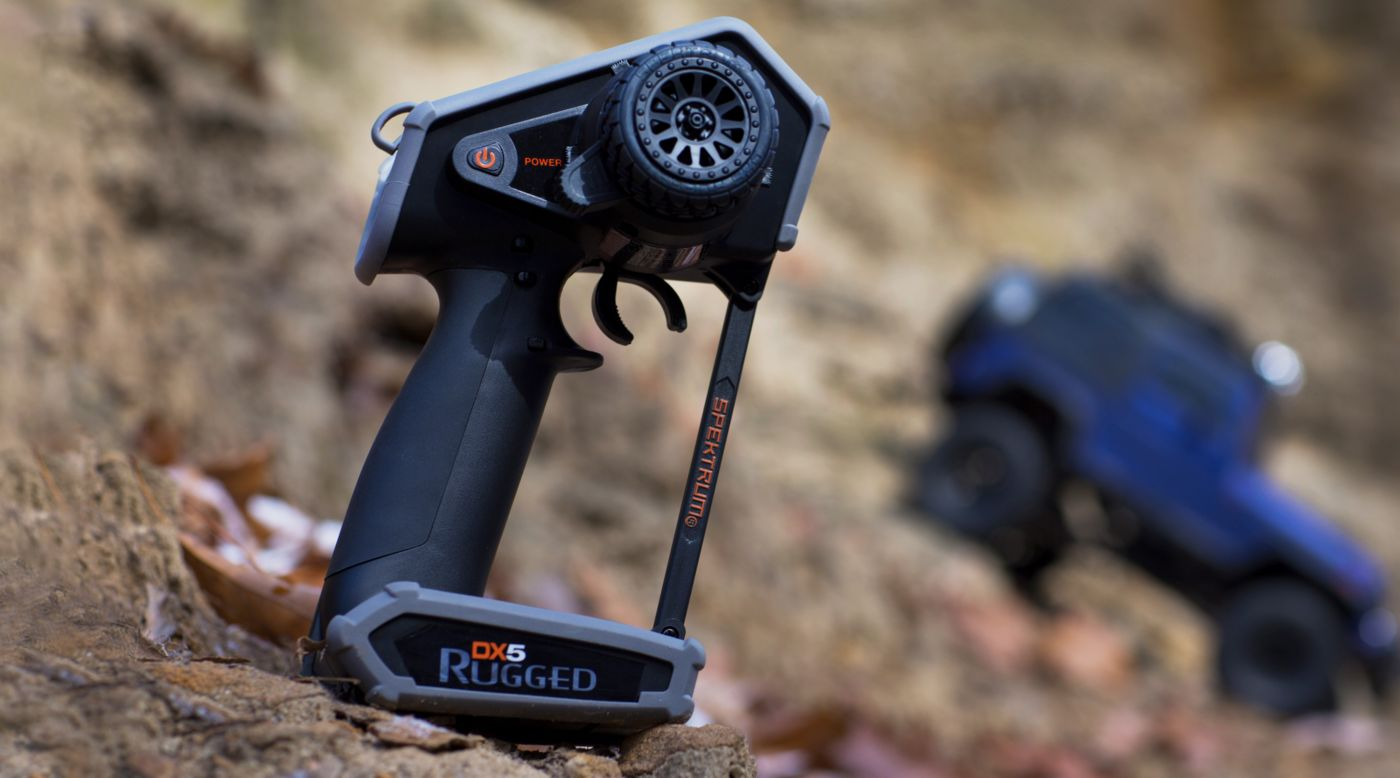 Grafik für DX5 Rugged DSMR TX mit SR515 in Horizon Hobby