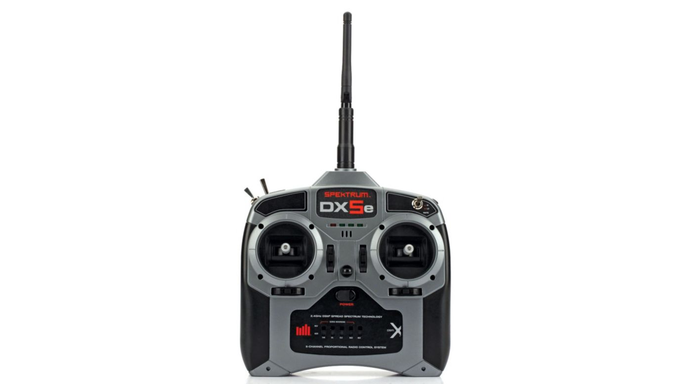 Image for DX5e 5-Channel DSMX® Transmitter with AR600 Receiver, Mode 2 from HorizonHobby
