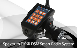 Spektrum DX6R Android Powered Transmitter Control Controller RC Radio